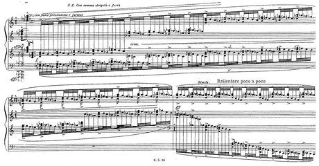 We think this might be the hardest piece of piano music ever