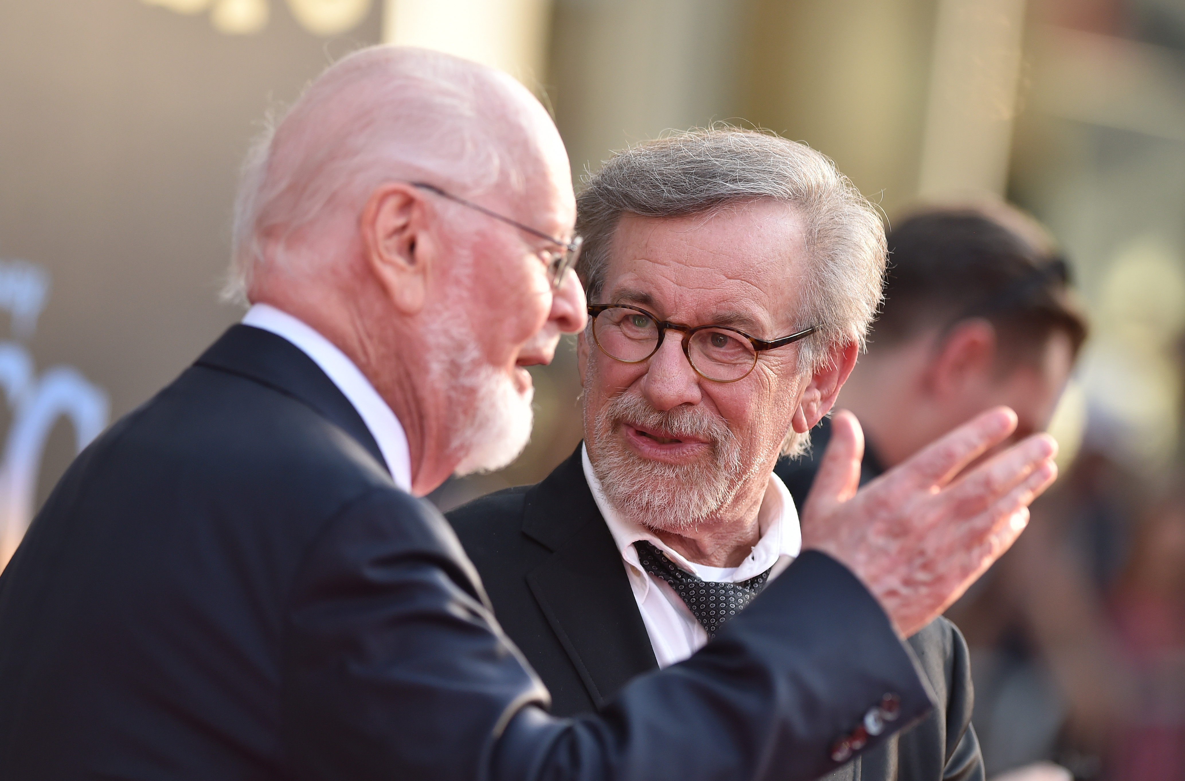 Steven Spielberg and John Williams