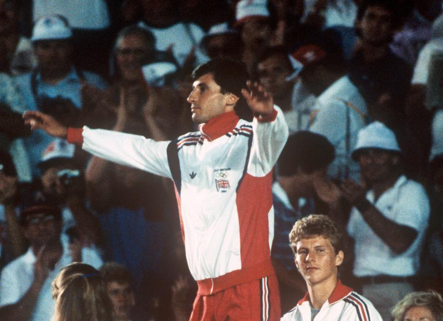 Seb Coe LA Olympics 1984