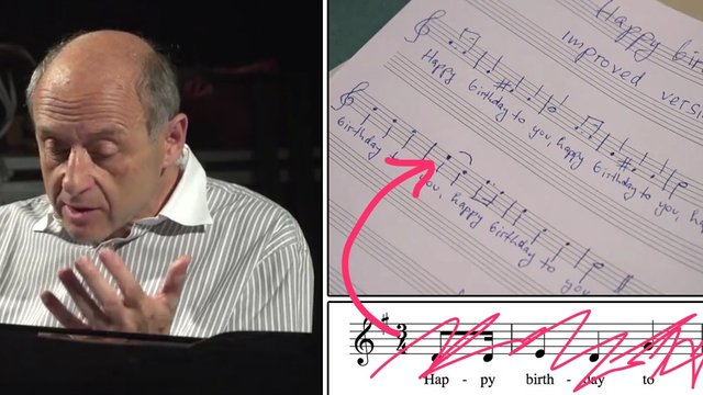 Watch this conductor completely tear apart 'Happy Birthday' and make