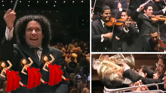 Dudamel conducting Bernstein's 'Mambo' is possibly the most deliriously infectious orchestral performance of all time