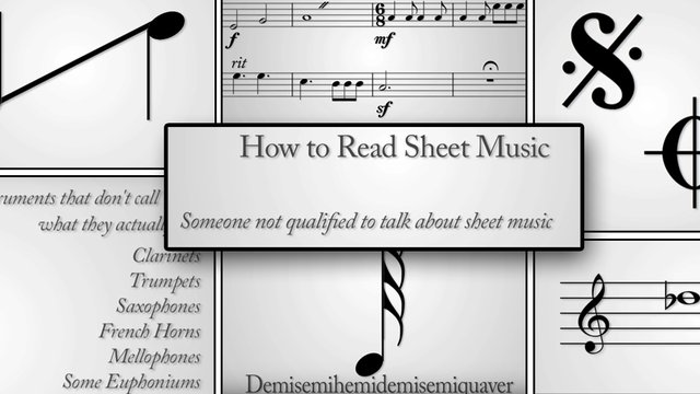 This video perfectly nails the ridiculousness of learning to read sheet music