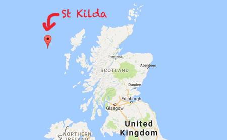 St Kilda Map Lost Songs of St Kilda: listen to the forgotten folk music of an