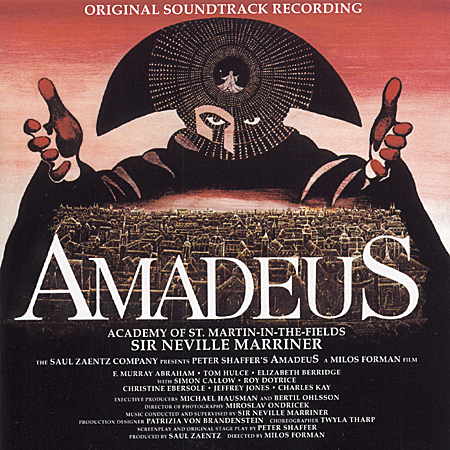 Amadeus soundtrack album cover