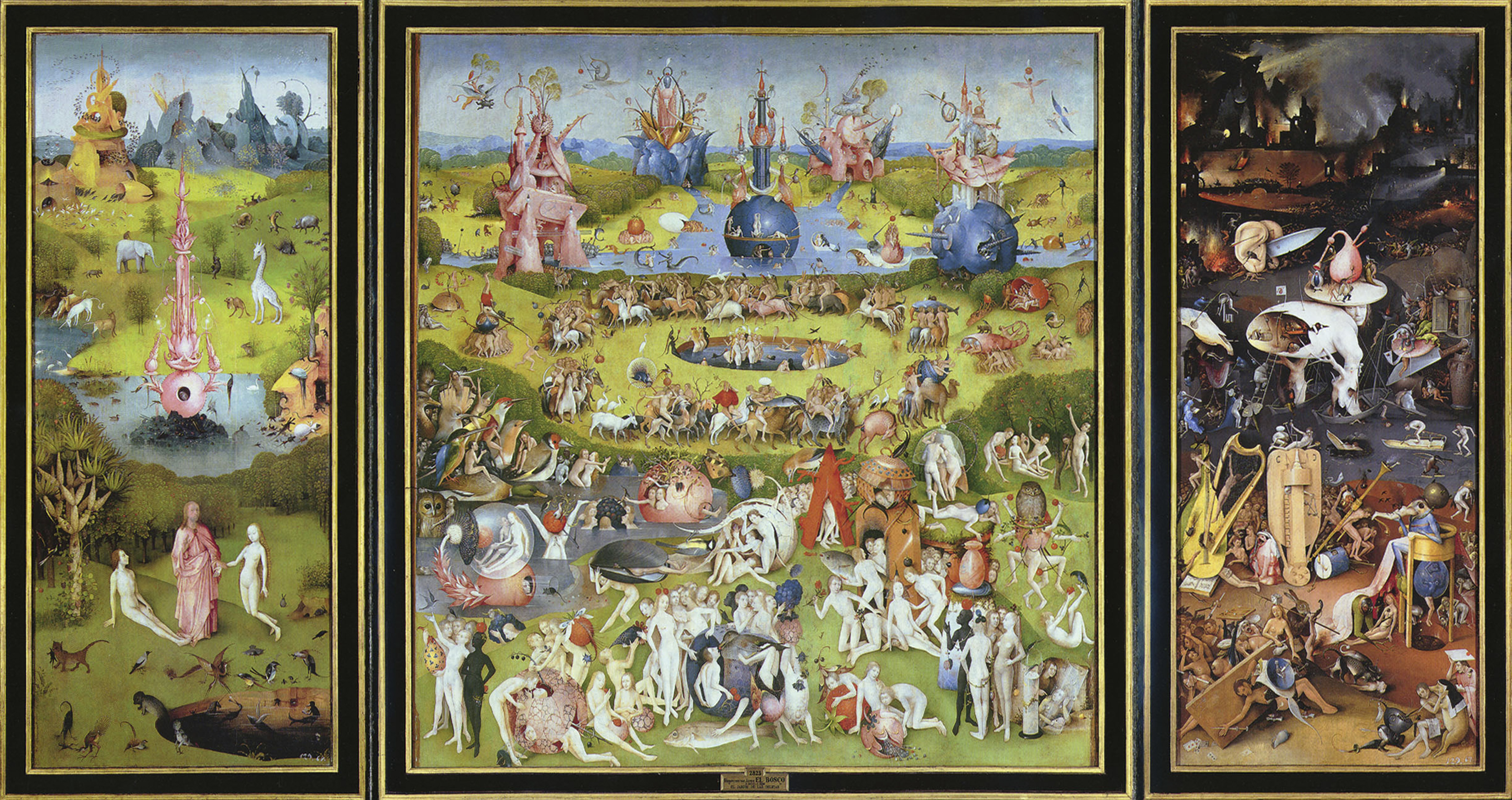 The Garden of Earthly Delights', 1500s.