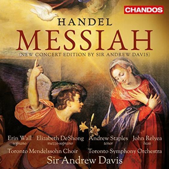 Messiah Handel Toronto Davis