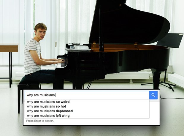 Musicians according to Google