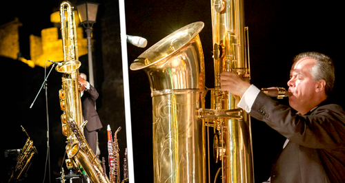 This Is The Largest Playable Saxophone In The World And It Sounds