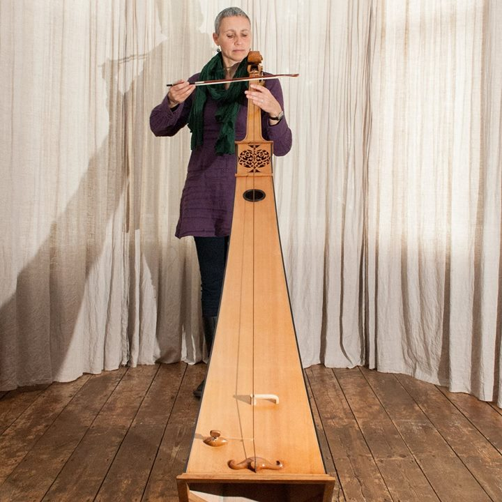 This instrument is the musical love-child of a double bass