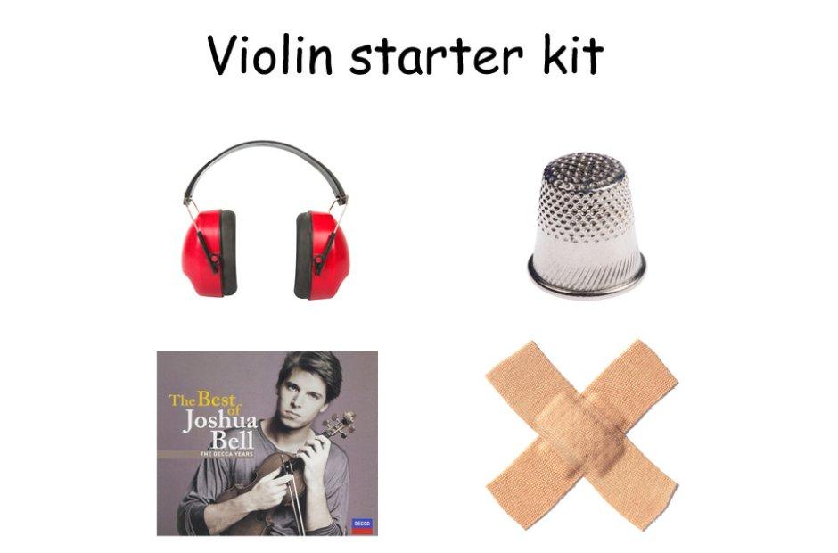 musical instrument starter kit