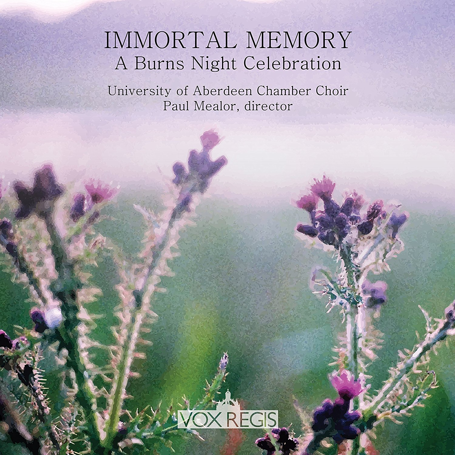 Immortal Memory Paul Mealor