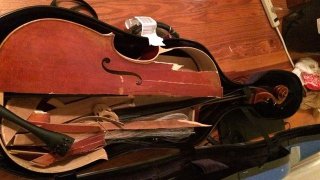 ANOTHER instrument has been completely destroyed during a flight - Classic  FM