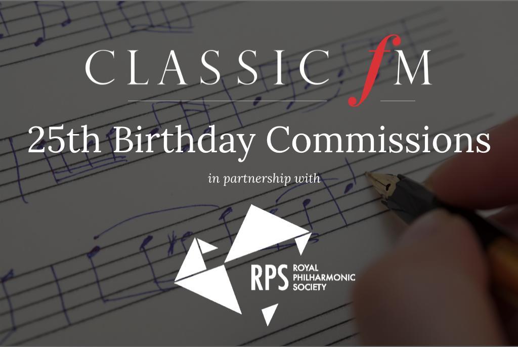 classic fm 25th commissions