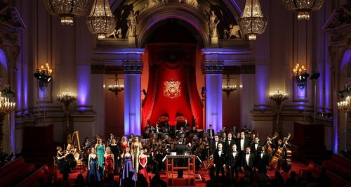 Song by Prince Albert performed at Buckingham Palace by Royal