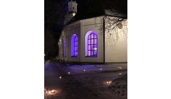 Vinterfest candles