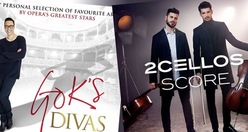 New Releases: 'Gok's Divas' and Two Cellos 'Score' - Classic FM