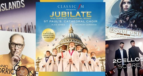 Classic FM Chart: Jubilate: 500 Years of Cathedral Music spends it's