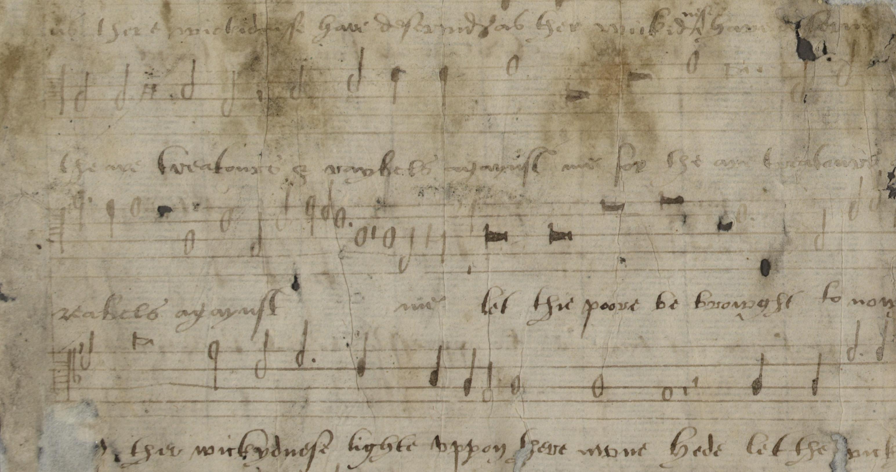 Fragment Catherine Parr manuscript
