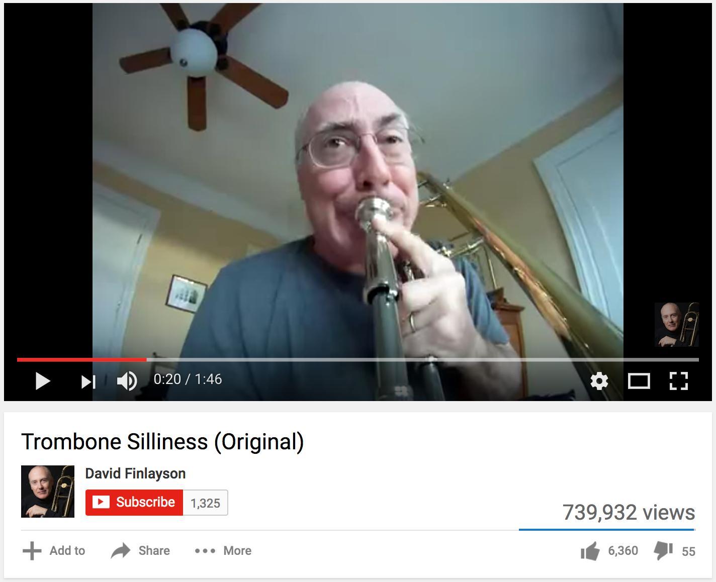 Trombone silliness