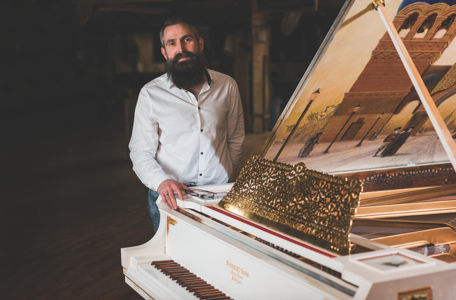 Steinway's new piano