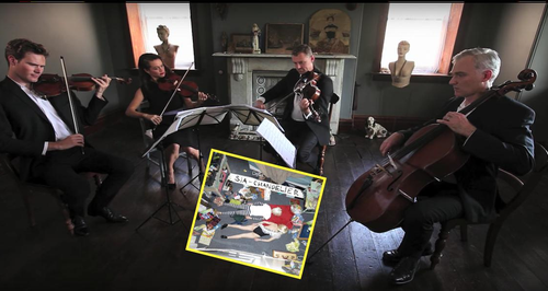 This string quartet cover of Sia\'s \'Chandelier\' is even more ...