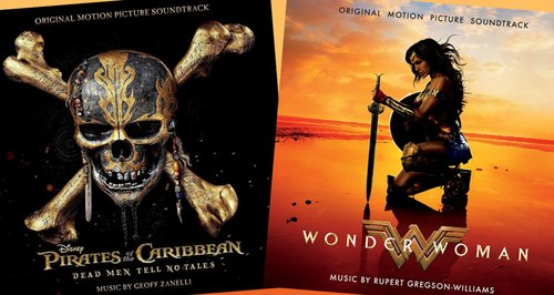 Classic FM Chart: New soundtracks for Pirates of the