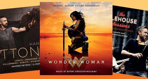 Classic FM Chart: Wonder Woman remains at no  1 for second week in a
