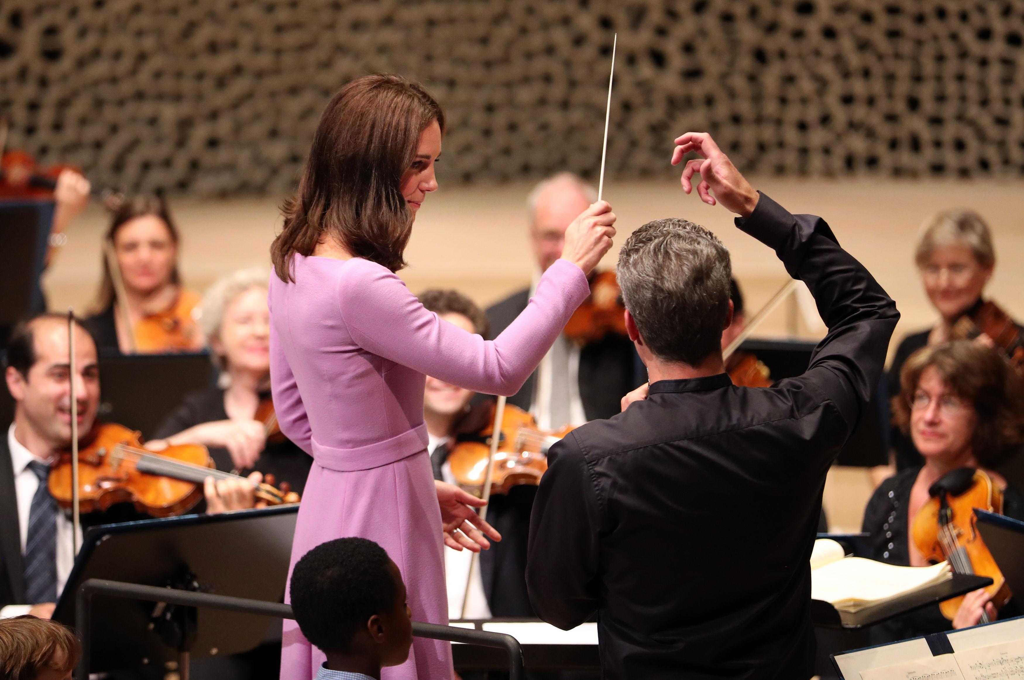 Kate conducts Hamburg Beethoven
