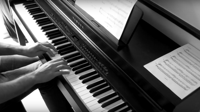 This beautiful piano cover of 'Numb' by Linkin Park is the perfect