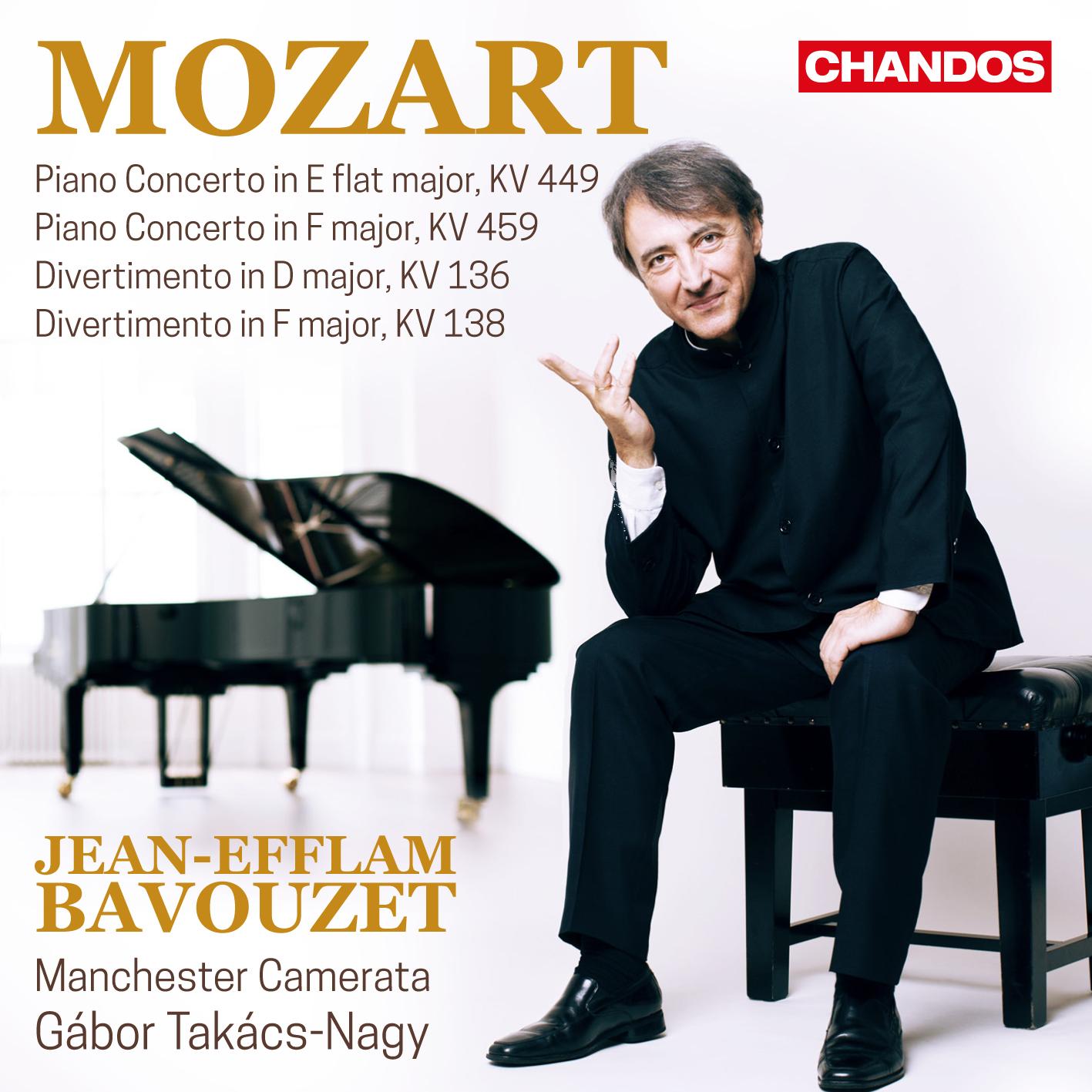 Mozart: Piano Concertos Vol. 2 - Jean-Efflam Bavou