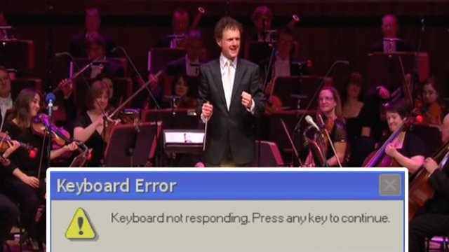 Try not to laugh at this orchestrated version of the Microsoft