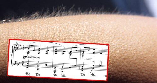 Music shivers
