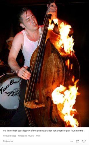Tumblr cello meme