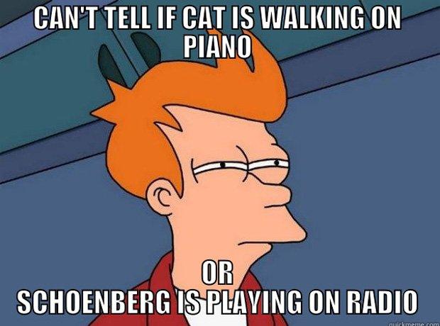 Schoenberg meme