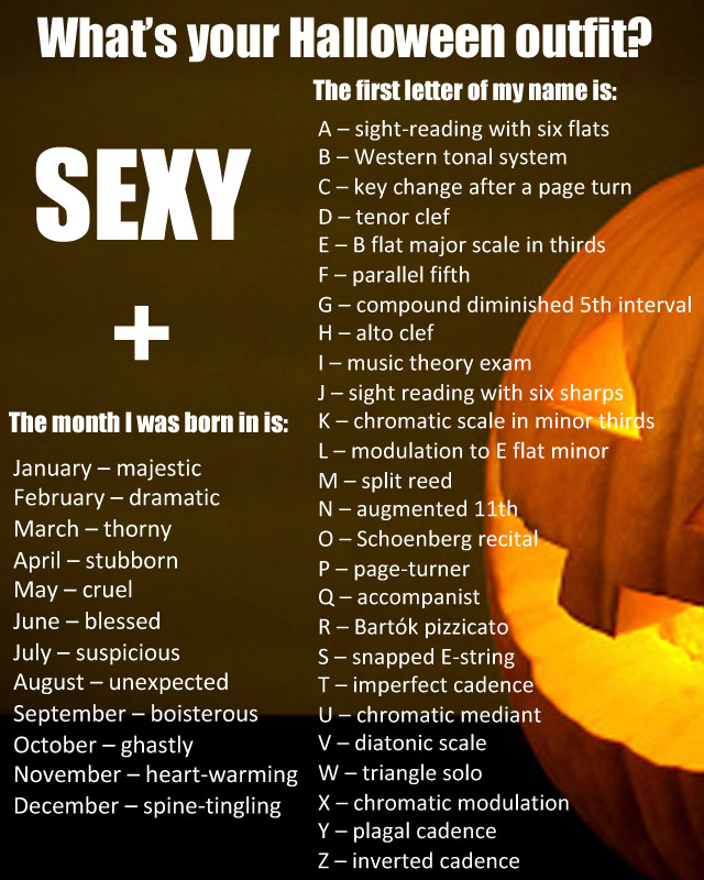 What's your Halloween outfit