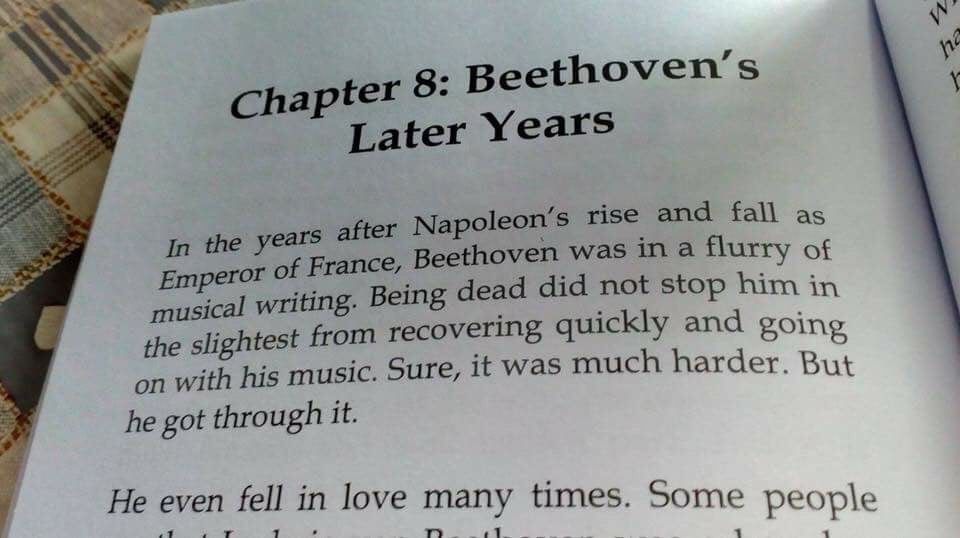 Beethoven book typo