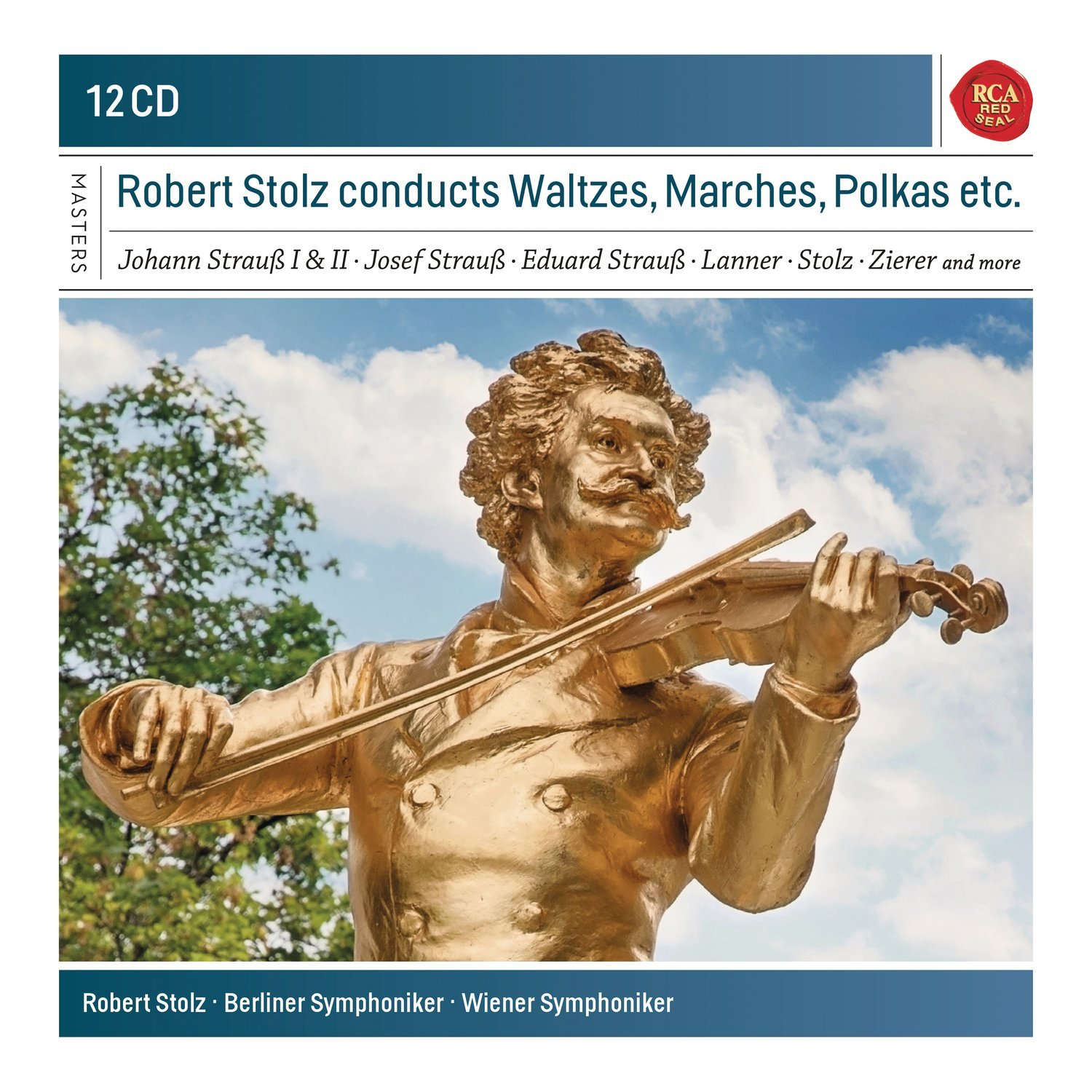 Robert Stolz Conducts Waltzes, Marches & Polkas  S