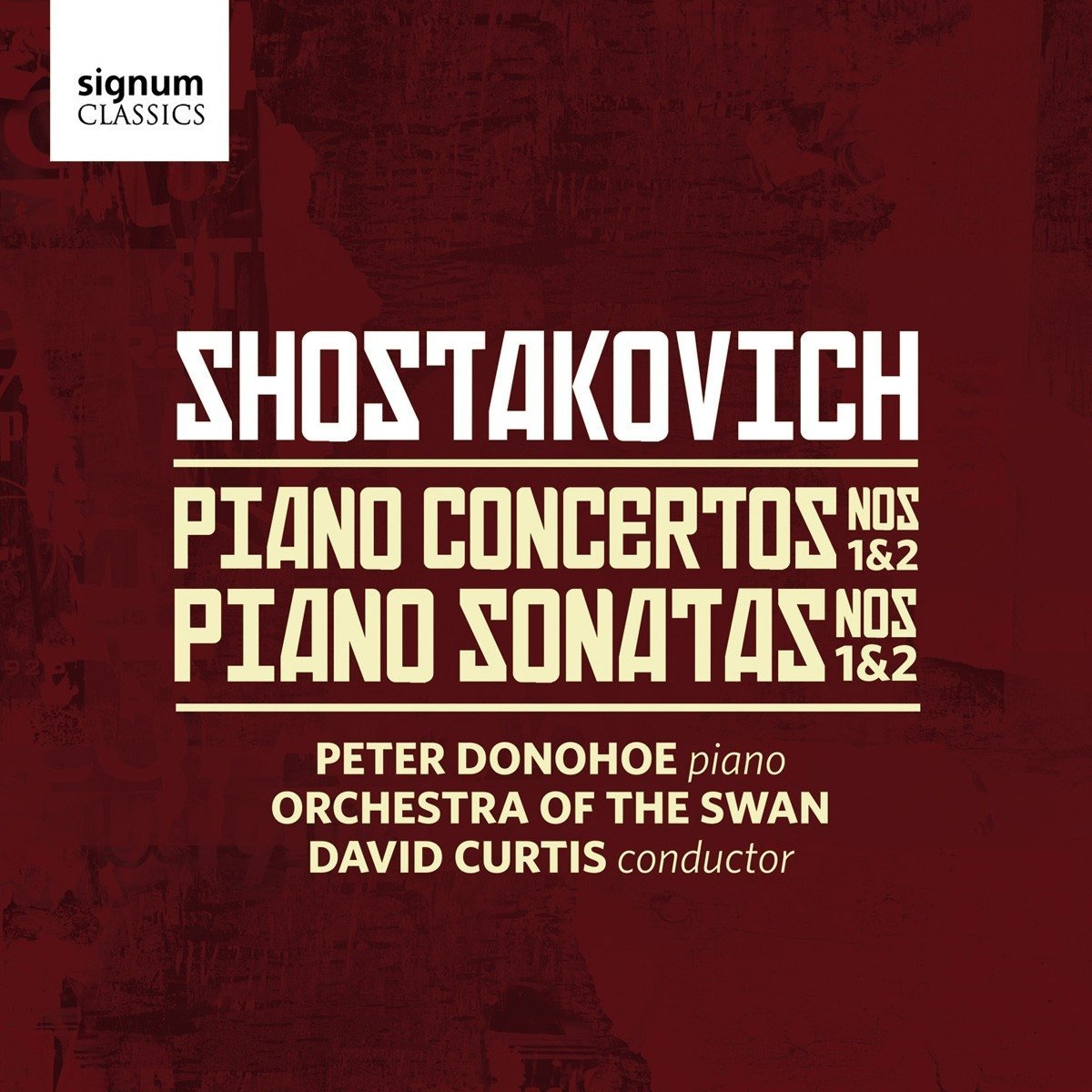 Shostakovich Piano Concertos: Peter Donohoe, Orche