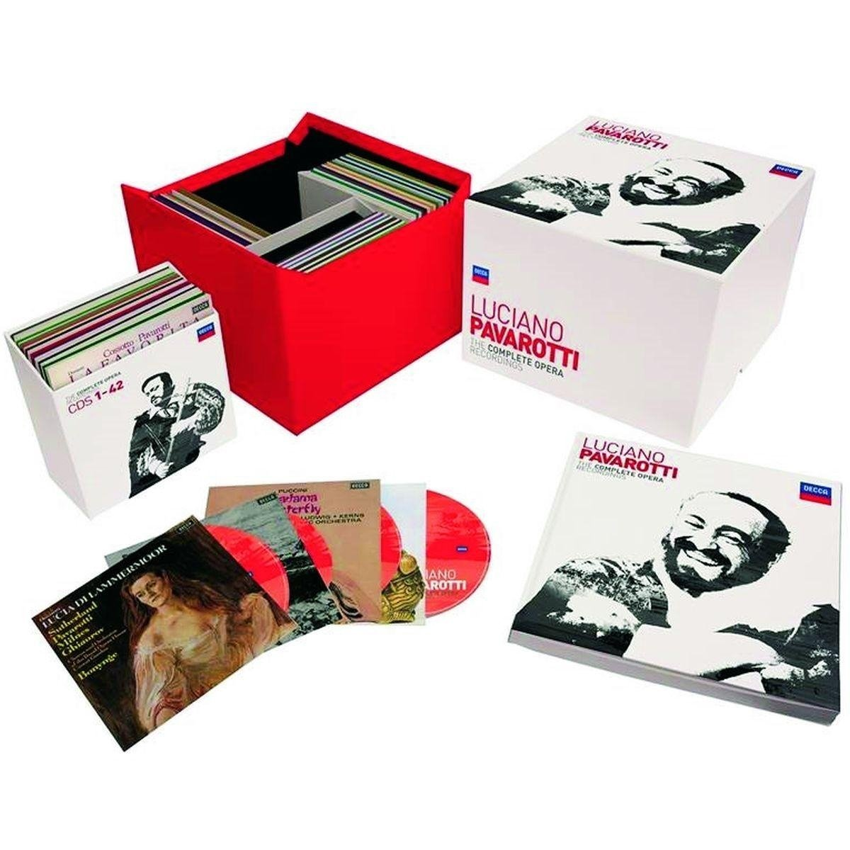 Pavarotti: The Complete Opera Edition  Decca