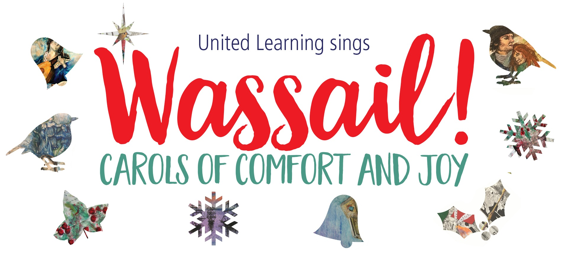 wassail carols of comfort and joy