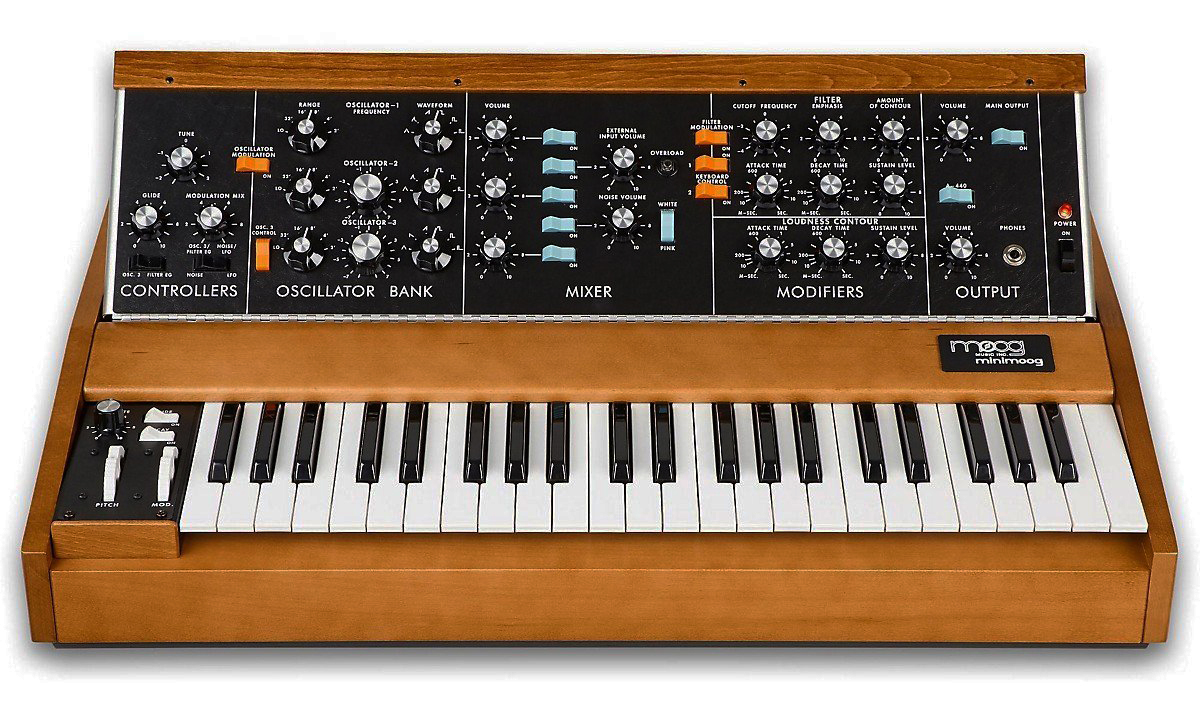 Minimoog synthesizer