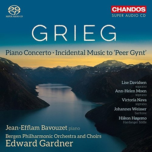 Grieg: Piano Concerto [Jean-Efflam Bavouzet; Berge