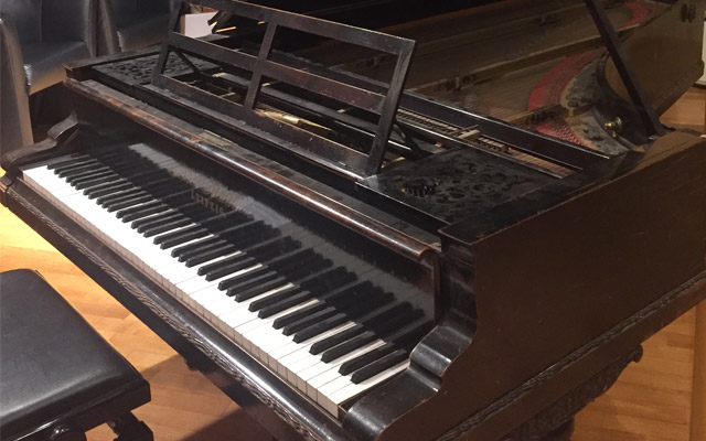 Edvard Grieg's Bluthner piano