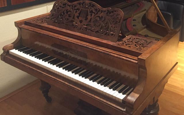 Franz Liszt's Bluthner piano