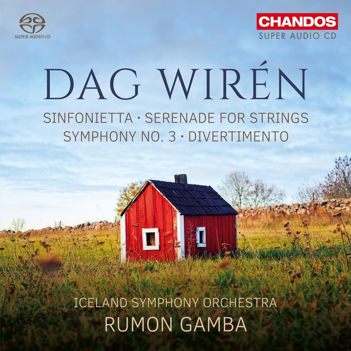 Dag Wiren: Orchestral Music - Iceland SO/Rumon Gam