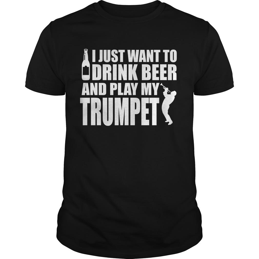 Beer trumpet t-shirt