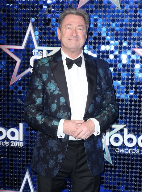 Alan Titchmarsh Global Awards 2018 blue carpet