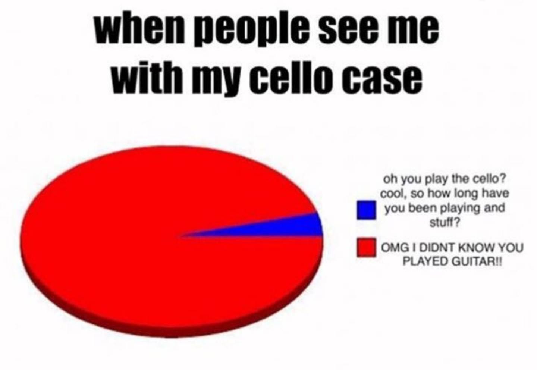 cello player meme