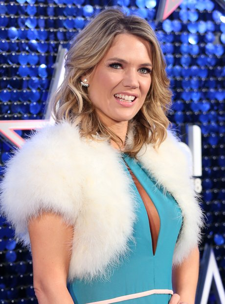 Charlotte Hawkins Global Awards 2018 blue carpet