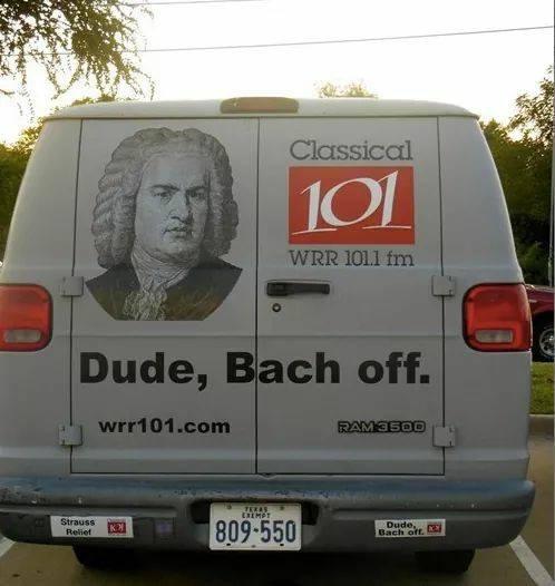 White van Bach meme